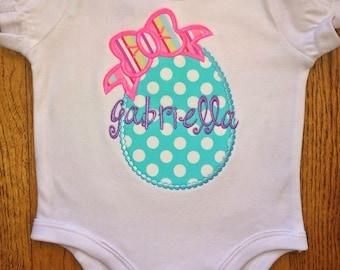 Easter Egg Bow Shirt