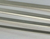 925 Sterling silver flat wire, Half Hard, handstamping wire, cuff wire, wide ring wire, for handstamped bars