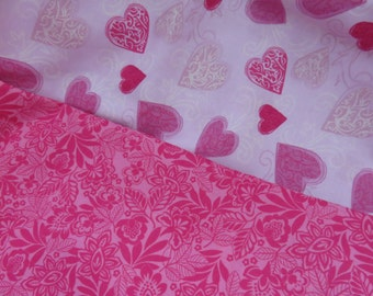 Quilting   Fabric  Design 100% Cotton 1/2 yard each total of 1 yard
