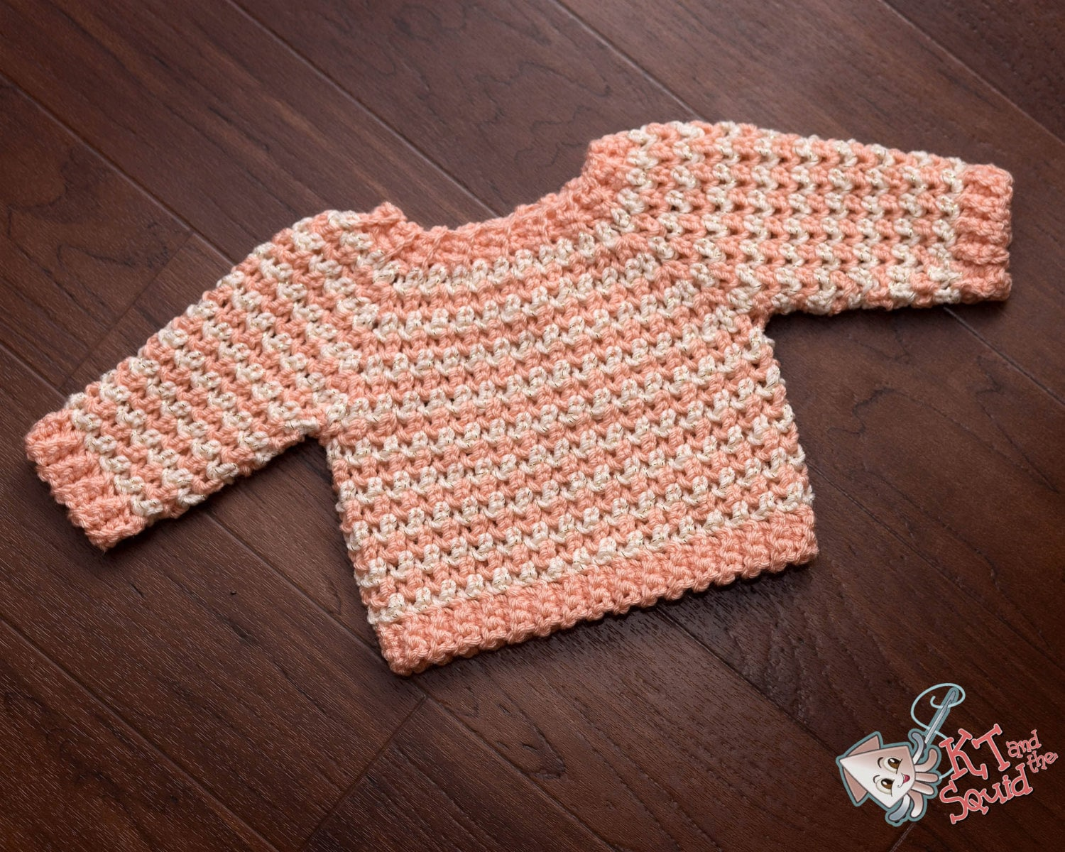 Infant crochet sweater pattrn top down baby sweater long zoom bankloansurffo Images