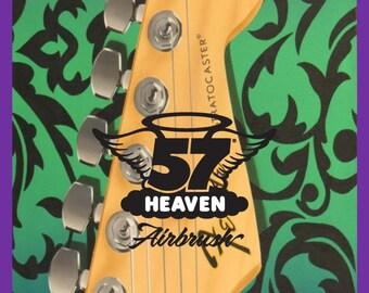 Fender Stratocaster Headstock Print