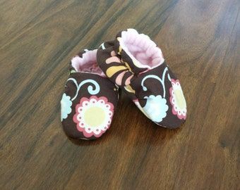 Shoes baby girl, Toddler girl shoes, baby crib shoes, girls slipper shoes, baby shower gift, boutique shoes for kids