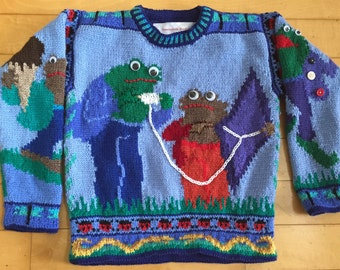 Knitting Pattern: Frog and Toad Five Years