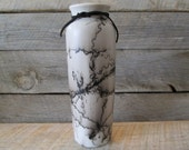 Horse Hair Pottery Skinny Vase #1 - Wyoming Made
