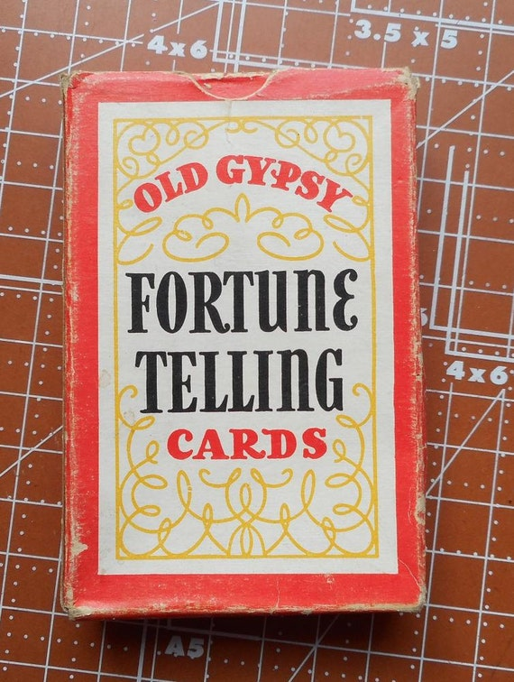 Vintage Old Gypsy Fortune Telling Cards by PaperCreationsbyDeb
