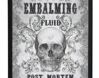 Alcohol flask Embalming fluid