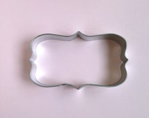 Frame Cookie Cutter / Plaque Cookie Cutter