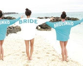 wedding party jersey,  bridesmaids jersey special listing