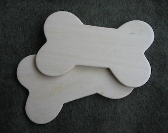 Wooden Dog Bones - #503