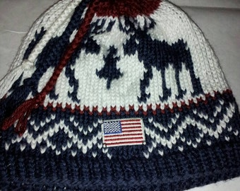 2010 Winter Olympic  Inspired  Beanie (Made to Order)olympic opening ceremony  winter olympic hat