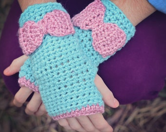Blue and Pink Wristlets