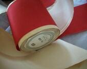 """1 yd. of this Scarlet taffeta ribbon 3"""""""