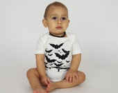 SALE | Congress Avenue Bats | Organic Baby Bodysuit | Screen Printed Baby Clothing | Baby Bodysuit | Organic Baby Clothes | Infant One Piece