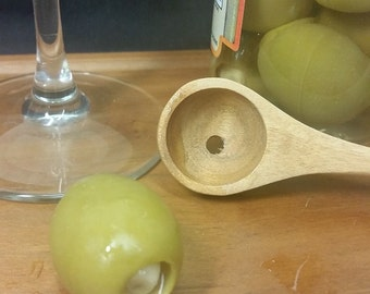 Bartenders Olive Spoon