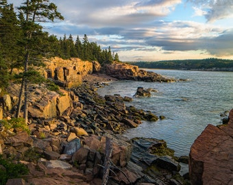 Acadia Coast at Thunder Hole Fine Art  Photographic Print
