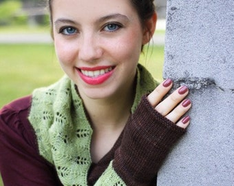 Candlelight Vigil Cowl and Mitts Patterns - Pattern Only - Digital Download