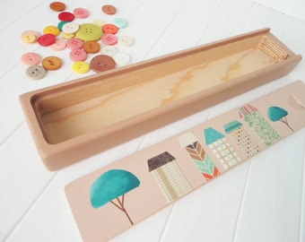CLEARANCE SALE! Hand Painted Wood Box