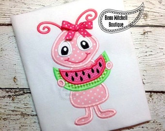 Watermelon ant applique