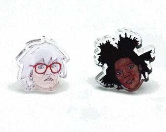 BFFs Acrylic Earrings