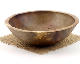 Spalted Sweet Gum Bowl / Wooden fruit bowl, Serving dish
