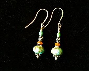 Onxy Dangle Earrings