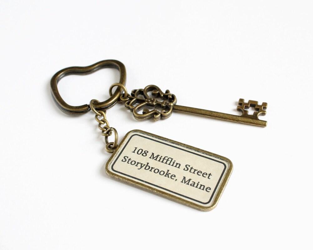 The Mayor 39 S House Key Ring OUAT