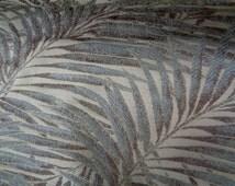 "53"" Wide Luxury Hotel Grade Designer Home Decorator Fabric Shimmery Upholstery Hawaiian Decor Tropical Leaves Tropical Print RL2 PLCK"