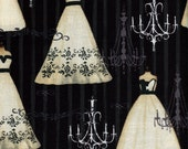 French Couture Dress - Wild Apple Fabrics - 1 yard - Last Available