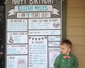 Birthday Poster Banner - Fill in the blank interview questions