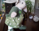 Waldorf Inspired Rabbit  Doll / Doll With Different Clothes / SALE