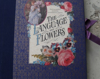 Victorian Photo Album Penhaligon's Of London The Language Of Flowers Unique Gifts For Her