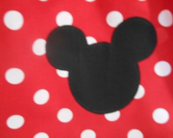 Applique add on to clothing purchased in this shop. mouse head with or without bow