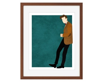 Doctor Who print - the Eleventh Doctor/Matt Smith