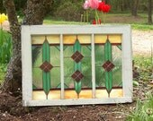 Stained Glass 3-Panel - Victorian-Inspired