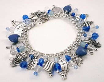 Hot Air Ballooning Charm Bracelet