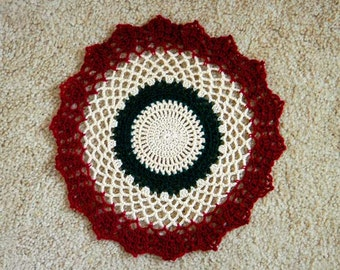 Victorian Decor Crochet Lace Doily, Table Decoration, New
