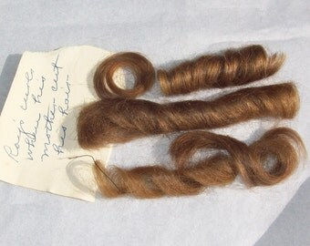 Roy's Golden Blond Ringlets ~ Victorian Son's First Haircut Curls