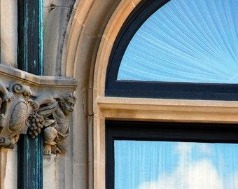 "Window Sky Reflection Photography Wall Art ""View of Heaven"""