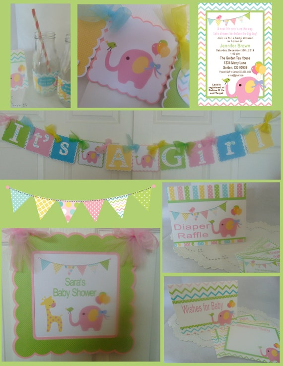 circus baby shower party in a box by a sweet celebration catch my