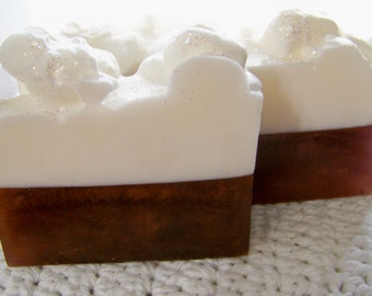 Hot Chocolate Soap ~ Natural Triple Butter Soap ~ Hot Chocolate Scented Soap