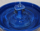 "Cat Water Fountain, Pet Fountain, Indoor Fountain  - 11 Inch Diameter - ""April Watertable"""