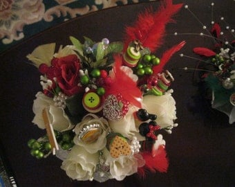 Disney  Like Posy  Bouquet - Charms, Buttons, Beads and Mickey