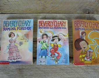 Vintage Beverly Cleary Ramona Books, 1980s
