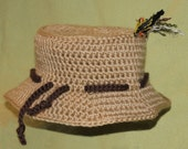 Fishing Hat with Flies for baby or child