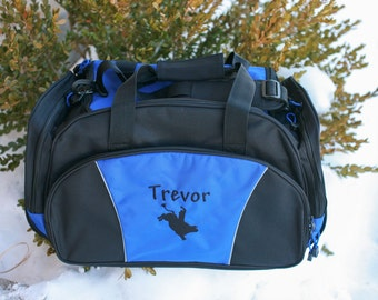 Personalized Embroidered Duffle Bag - Great bridal parties, clubs, teams or add your own design