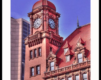 Main St Train Station  Richmond VA -  Fine Art Photography print by Dave Lynch - Free Shipping on any additional purchase