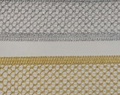 "Metallic gold  braid trim 2"" for costumes, decor, party couture and more 2 yards"
