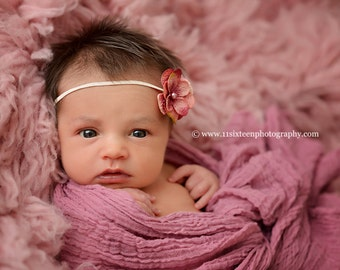 Pale Pink Cheesecloth Baby Wrap Cheese Cloth Newborn Photography