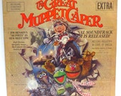 The Great Muppet Caper Album Cover Purse Custom Made Vintage Record Purse Walt Disney LP Album Handbag Tote