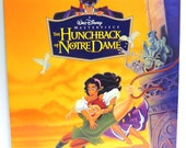 The Hunchback of Notre Dame House Album Cover Purse Custom Made Vintage Record Purse Walt Disney LP Album Handbag Tote